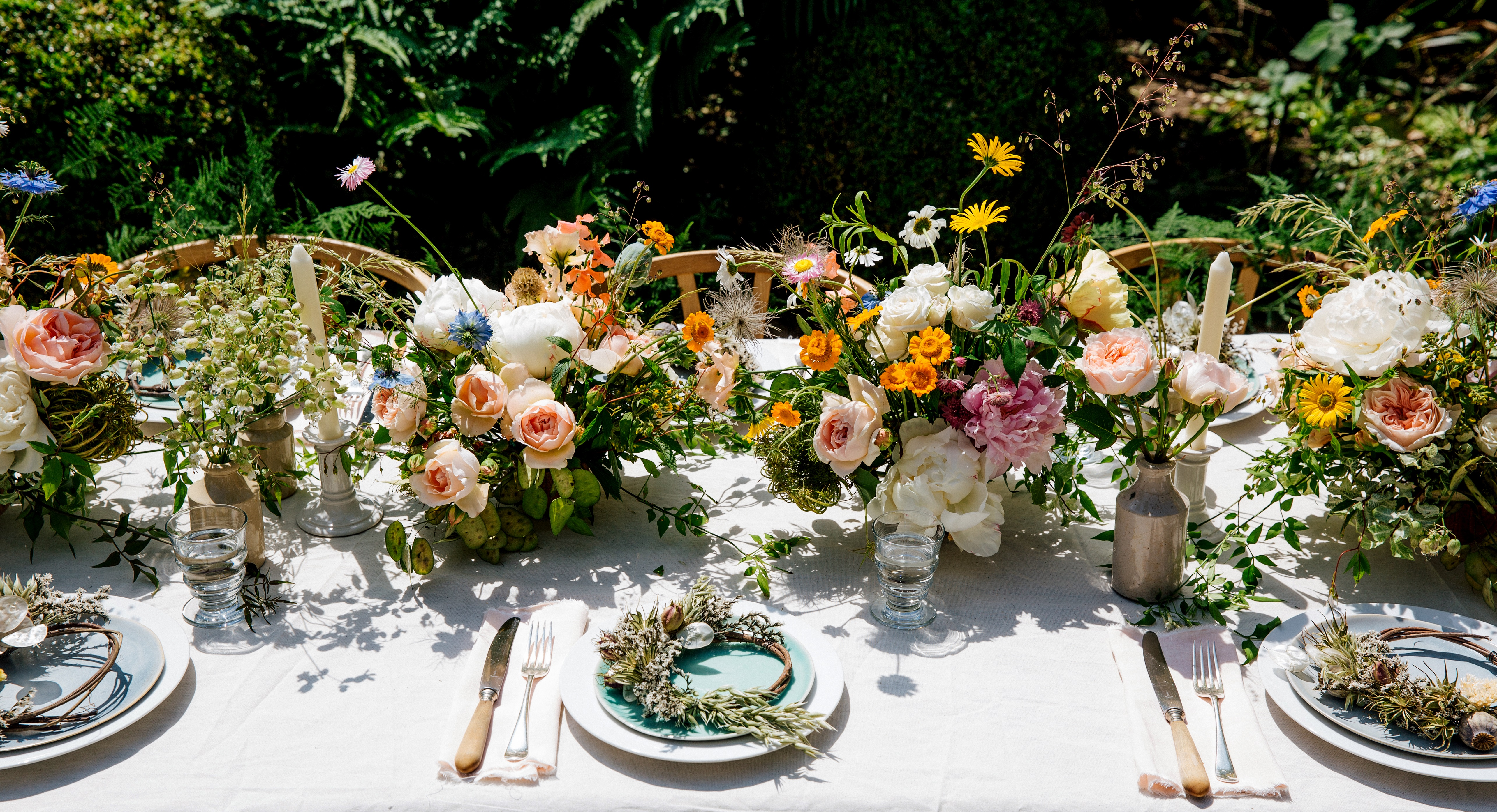 Celebrate the season with a swedish midsommar funny how flowers do the garden roses and sweet peas also have the most beautiful scent for guests to enjoy izmirmasajfo