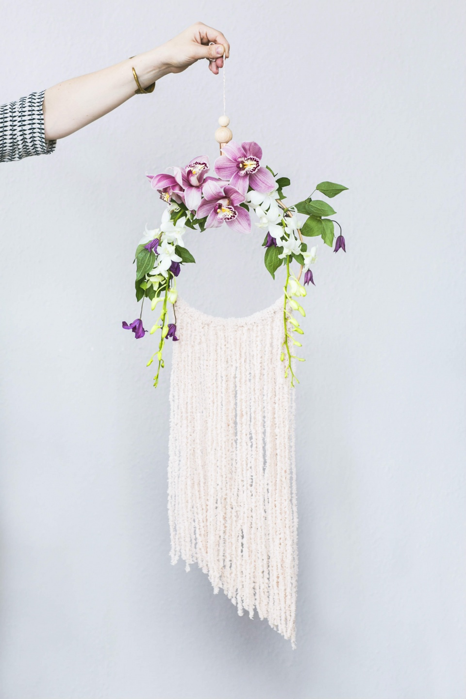 Diy dreamcatcher with the bouquet of your dreams funny for What do dreamcatchers do