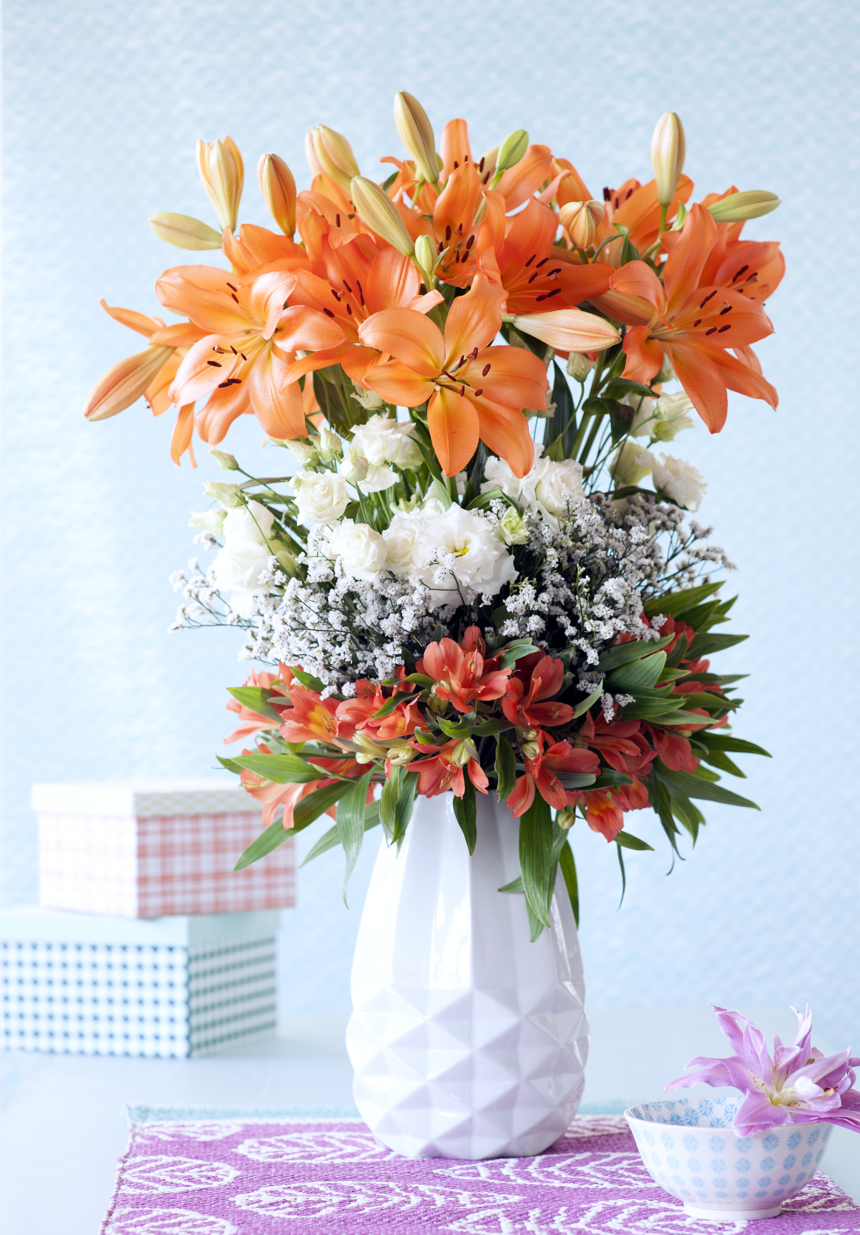 Top tips for tall vases | Funny how flowers do that