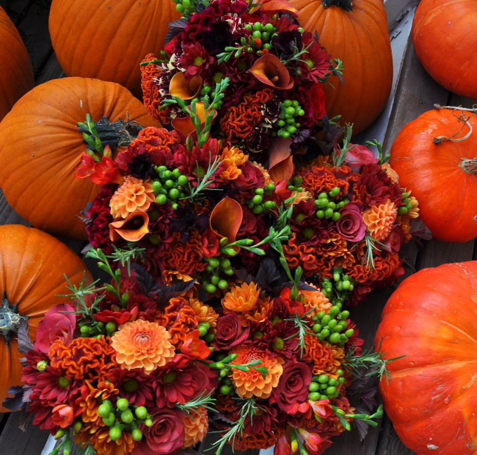 Autumn Wedding Flowers Guide: Funny How Flowers Do That